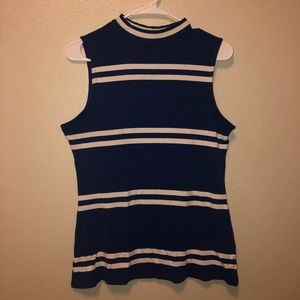 Cute Striped Elle Sleeveless Top